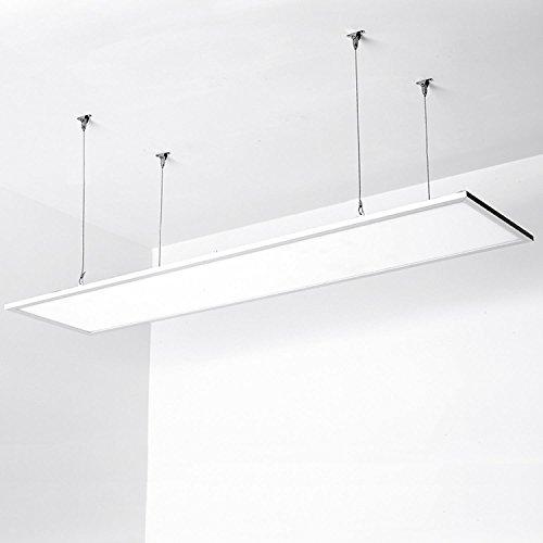 Aigostar - Panel LED slim, rectangular 295 x 1195 mm, 40 W equivalente a 340 W, luz blanca...