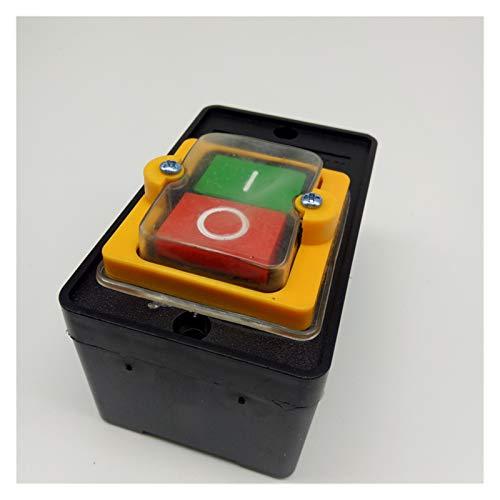 XIAOZSM Interruptores Máquina Duradera Taladro Motor Accesorios Impermeables Interruptor Interruptor Pulsador Industrial para Cortar/desactivar el hogar eléctrico para KAO-5M Car (Color : KAO 5H)