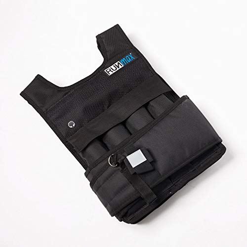 RUNmax RUNFast RM_20 Pro Weighted Vest, 20 lb.