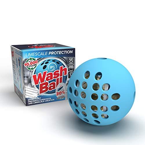 Boule anti-calcaire ISP de Swiss Aqua Technologies pour les machines à laver, les réservoirs de toilette et les lave-vaisselle, le détartrant végétalien réutilisable écologique