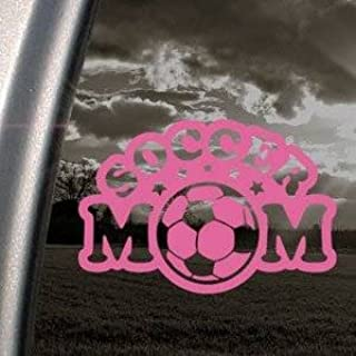 Soccer Mom car truck window sticker decal #450