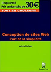 Conception de sites Web - L'art de la simplicité de Jakob Nielsen