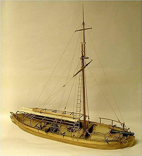 producto de calidad Model Shipways Gunboat Philadelphia Wood Wood Wood & Metal Kit - Sale 55% off - Model Expo by Model Shipways  mejor calidad mejor precio