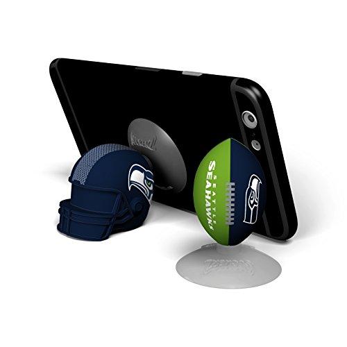 NFL Sports Suckerz Seattle Seahawks Football & Helmet Phone Stand