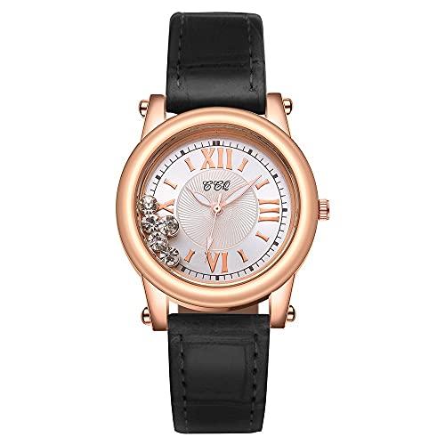CXJC Relavenada de la Madre de Perla Relojes Elegantes de Las señoras. Reloj de dial de Bola Creativa. (Color : I)