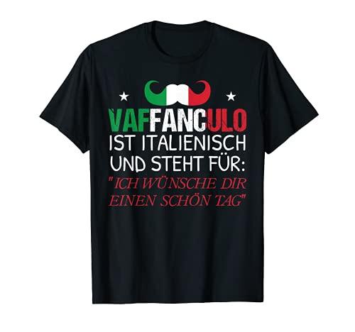 Italia Vaffanculo - Divertida frase en italiano Camiseta