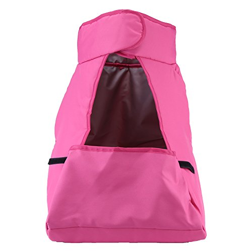 Saco de pie para cochecito de bebé, 3 colores, opcional, resistente al viento, para cochecito de bebé con diámetro interior de 34 a 45 cm para cochecito de bebé (rosa)