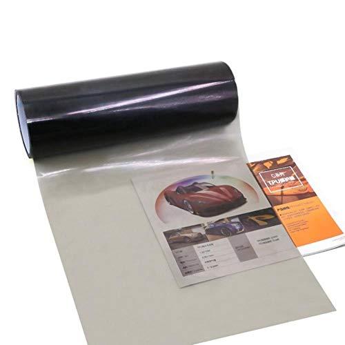 30 * 100 cm Voor Auto Koplamp Achterlicht Tint Sticker venster verven voor auto Mistlamp Achterlicht Viny Stickers, licht zwart, Russische Federatie