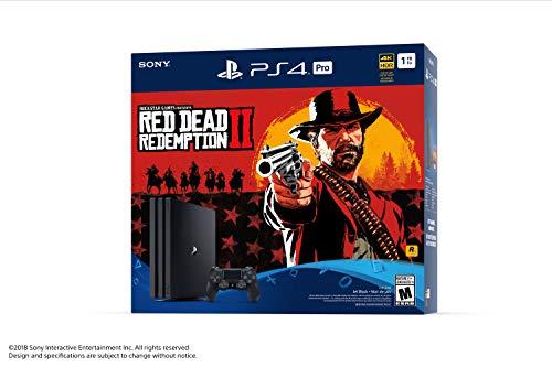 Console PlayStation Ensemble PS4 Pro du jeu Red Dead Redemption 2 - 1