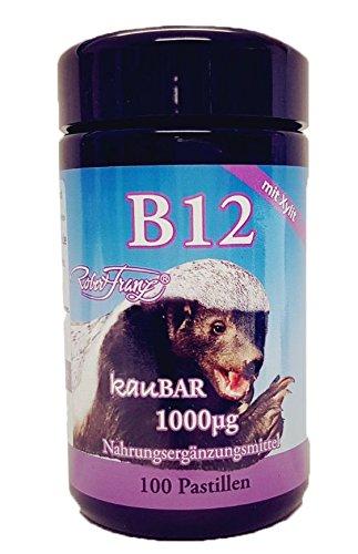Vitamina B12 de Robert Franz - 100 Pastillas masticables
