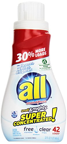 ALL Small & Mighty 3x Concentrated Laundry Detergent
