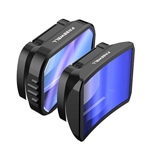 Freewell Weitwinkel & Anamorph Objektiv mit ND Filter Kompatibel mit Pocket 2, Osmo Pocket