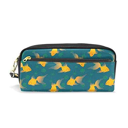 Personalizable Goldfishes Estuche Portatodo Estuche Estuche Estuche Estuche Gran Capacidad Bolsa Maquillaje Cosméticos Caja Escolar Oficina Bolsa de Viaje
