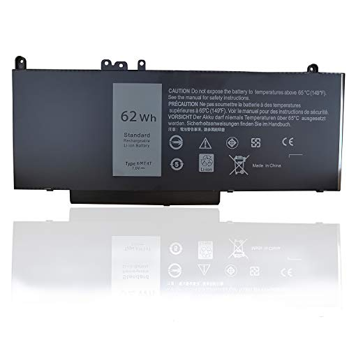 6MT4T Battery,Texmiy Replacement Battery Compatible with Dell Latitude E5470 E5570, fits 7V69Y TXF9M 79VRK 07V69Y (6MT4T)