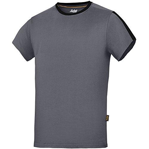 Snickers Workwear Allroundwork T-maglietta, 1 pz, M, colore grigio, 25185804005
