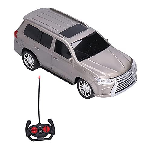 Deror 1:16 Coche teledirigido, 4CH Altamente simulación RC Coche Modelo de vehículo Juguete para niños niños(Gris)