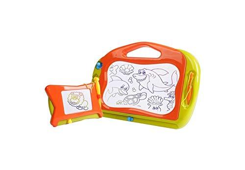 UpSoitech Junta de dibujo magnético para niños Tablero de dibujo infantil de dos en uno Tablero de escritura magnética Aprendizaje infantil Tablero de dibujo Borreable Doodle de escritura PREMIOS PREM