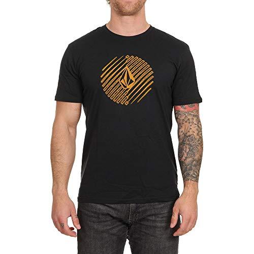 Volcom Halfer BSC SS T-Shirt 100% Coton Biologique Homme, Black, FR : S (Taille Fabricant : S)
