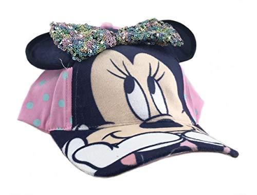 Gorra Infantil 3D Lazo Lentejuelas Minnie Mouse Disney ET4045 Pink