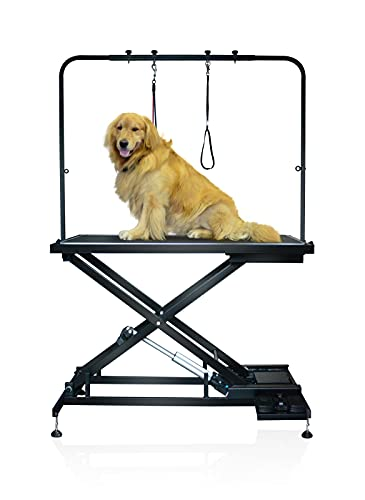 SHELANDY Pet Dog Grooming Table Electric & Heavy Duty.