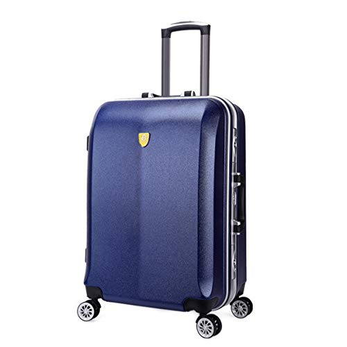 fosa1 Hand Luggage Trolley case ABS + PC Trolley Case Universal Wheel Suitcase, Trend Suitcase, 20, 24 Inch (Size : 20inch)