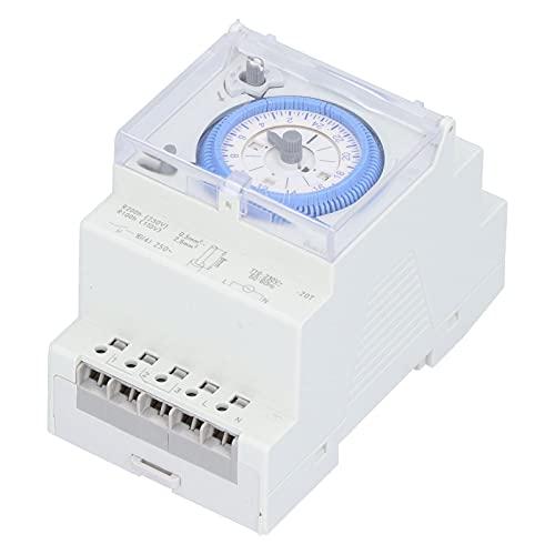 Temporizador mecánico Intervalos de 15 minutos Interruptor de tiempo eléctrico de servicio pesado Sul181d Ac110‑230v Para calentadores de agua Dispensadores de agua Alumbrado público Luces de escalera