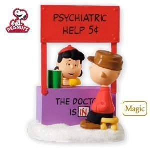 The Doctor Is In The PEANUTS Gang - 2010 Hallmark Keepsake Ornament