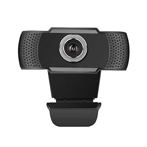 Best Plug and Play HD 1080P (30fps) External USB Webcam with Noise CANCELING Microphone for Video Streaming, Conference Calls, and Hd Video Recording Across Multiple Platforms