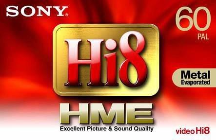 Sony E5-60 HME Hi8-Videokassette (60 min)