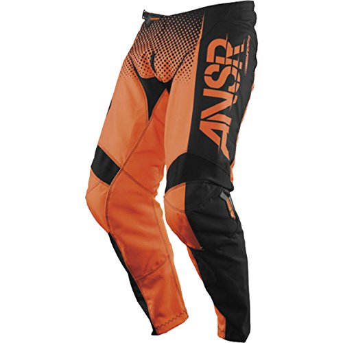 Answer Racing A17.5 Syncron Men's Off-Road Motorcycle Pants - Orange/Black/Size 30