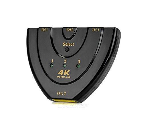 Full HD 4K HDMI Switch/Distributore, imountop automatica/3Port   3d Ready fino a 1080p   3Port Commutatore