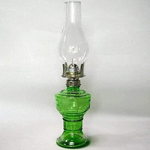 Lámpara de Aceite Retro Vintage Lámpara de Aceite pequeña, Lámpara de Caballo, Lámpara de soplador, Lámpara de Tienda clásica Lámpara de Mantequilla, Lámpara de Emergencia Lámpara de Queroseno de Vi