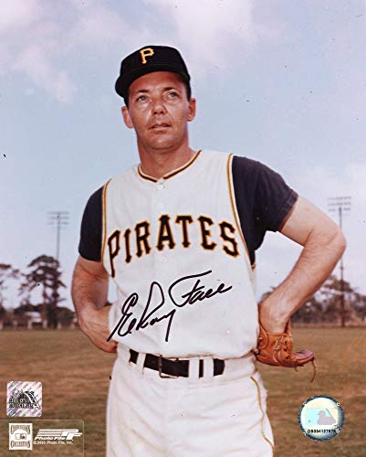 Elroy Face Autographed Pittsburgh Pirates 8x10 Photo (Standing Black Ink) - SCC