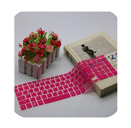 15 15.6 Inch Keyboard Cover Protector Skin for Acer Aspire Acer 5755 E1 510 V3 571G V3 551 V3 551G V3 571 Es1 531-Rose-