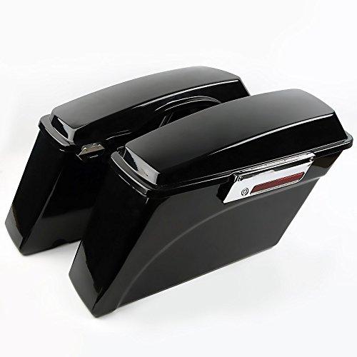 Seitenkoffer für Harley Davidson Road King Classic (FLHRC/I) 98-13 schwarz