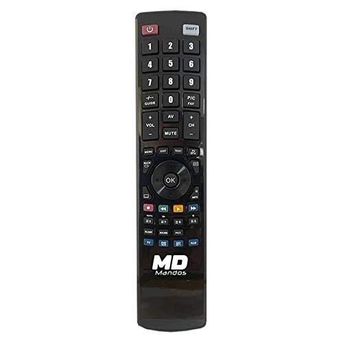 MD Mando a Distancia específico para GT Media FREESAT - Modelo V9 Super