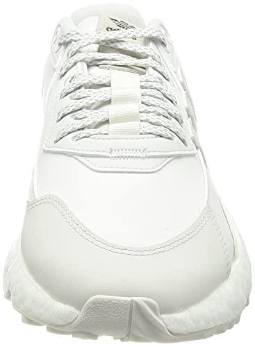 adidas Nite Jogger Winterized, Zapatillas Deportivas Hombre, Crystal White FTWR White Core Black, 41 1/3 EU