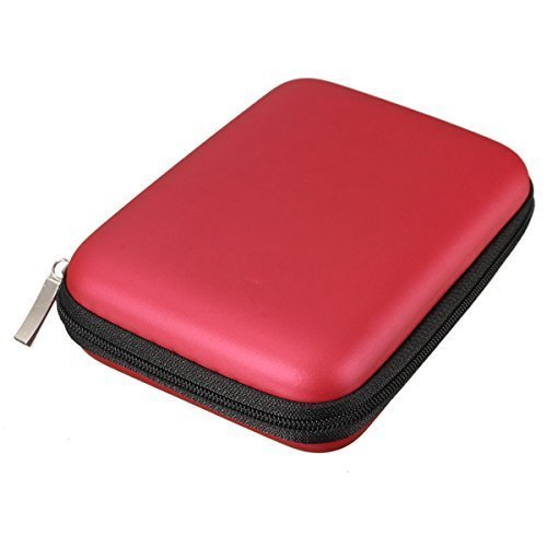 Angelo Caro-Portable Hard Disk Drive Shockproof Zipper Cover Bag...
