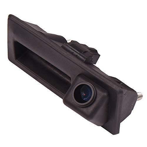 170° HD Kamera 1280x720p Wasserdicht Nachtsicht Hilfslinien Heckklappe Rückfahrkamera Distanzlinien Umschaltbar für Audi A4 B8 A5 S5 Q3 Q5 VW Passat Tiguan Golf Passat Touran Jetta Sharan Touareg
