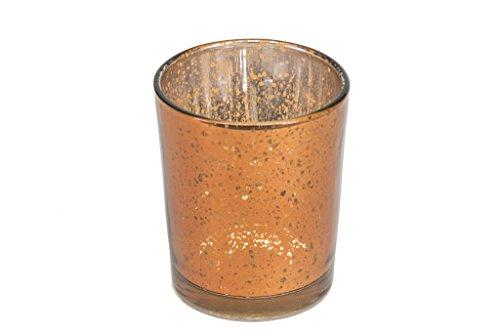 Copper Mercury Glass Votive Candle Holders ~ Copper Candle Holder ~ Mercury Glass Votive for Weddings ~ Copper Votive (12)