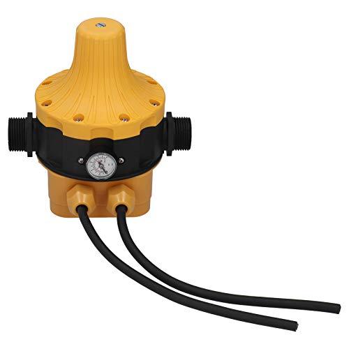 Controlador de Bomba automático, Bomba de Agua con Control de Interruptor electrónico, ABS 220-240 V para Bombas autocebantes Bombas de jardín duraderas y fáciles de operar
