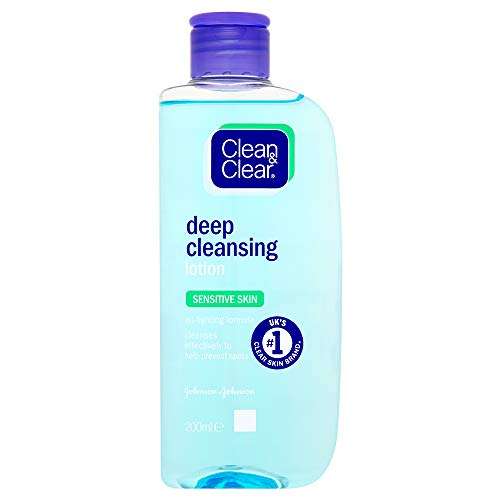 Clean and Clear Deep Cleansing Nettoyant pour le Visage 200 ml