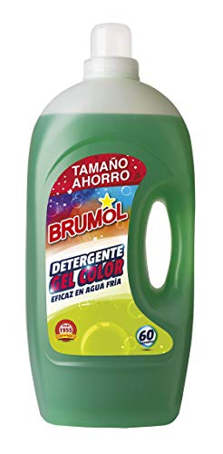 Brumol wasmiddel Gel Color 60 wasbeurten, 4-pack (4 x 4000 ml) - in totaal 16000 ml