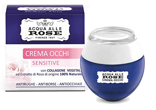Acqua alle Rose Contorno Occhi Antirughe, Crema Occhi Antiage, 15 ml