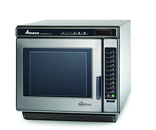 Amana Commercial RC22S2 Amana RC Chef Line Commercial Microwave Oven, 2200W, Stainless Steel