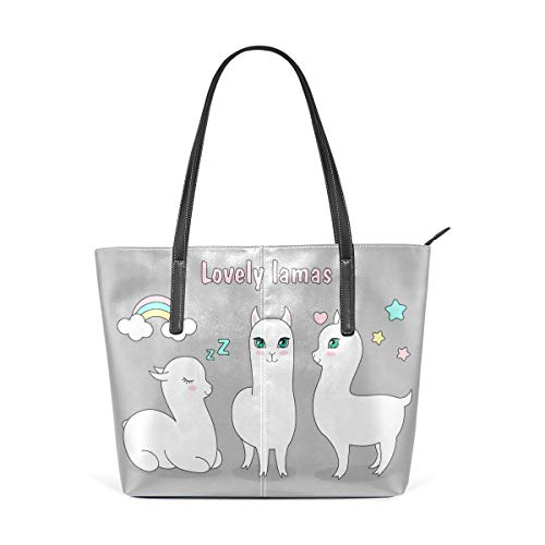 Funny Ancient Cute Dinosaur In Painting Large Soft Leather Portable Top Handle Hand Totes Bags Causal Handbags With Zipper Shoulder Shopping Purse Luggage Organizer For Lady Girls Womens Work