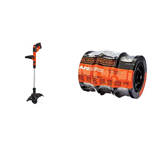 Great Features Of BLACK+DECKER 40V MAX String Trimmer/Edger with Trimmer Line, 30-Foot, 0.065-Inch, ...