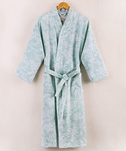YPDM nachthemd Nieuwste zomer 100% katoen nachthemd sexy badjas dames nachtkleding double deck gaas slaapshirts female Home badjas