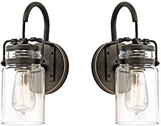 Best clear glass wall sconce Reviews