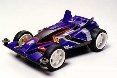 Proto-Emperor ZX - CD938 (Mini 4WD) Tamiya Racer Mini 4WD